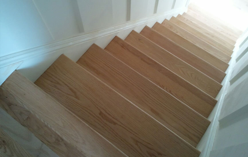Li Wood Stair Installation Wood Railings