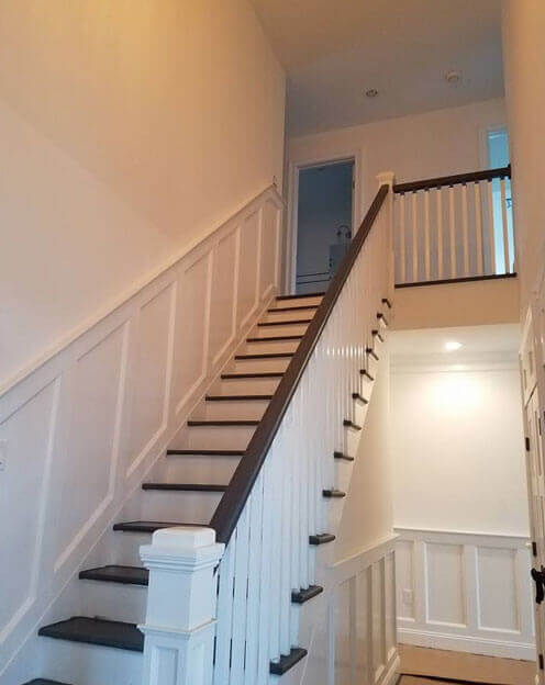 Hardwood Floor And Construction Industry Long Island. Hardwood Stair  Replacement Long Island