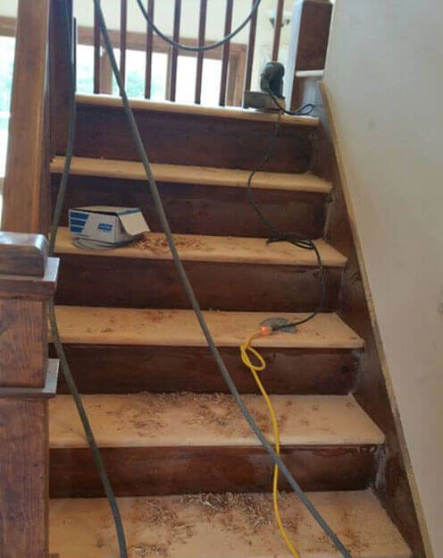Hardwood Stair Replacement Long Island